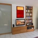 Raumteiler Windfang Eichenhaus Gleitturen Schranke Raumteiler