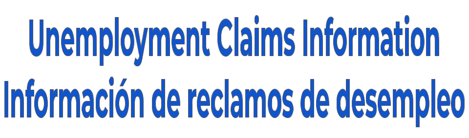 Unemployment Claims Info banner