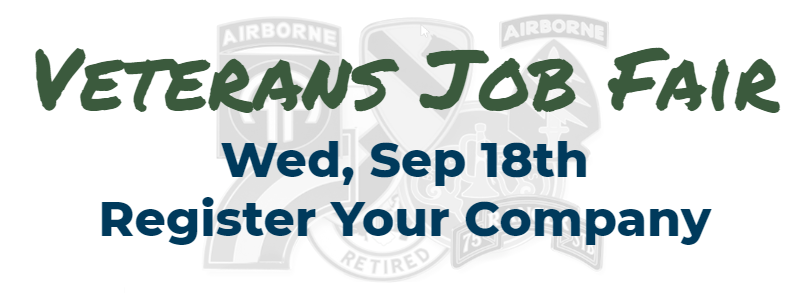 Veterans Job Fair Company registration