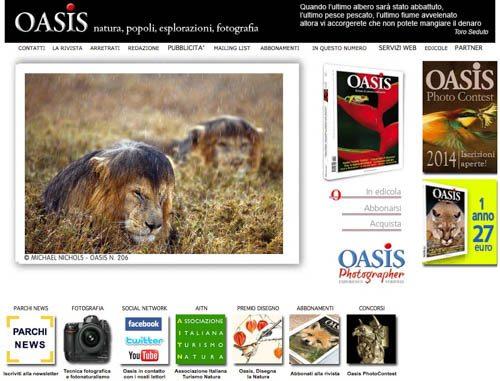Massimo Basso - massimobasso.com sito oasisweb