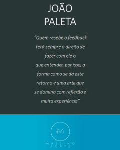 Massimo Forte, Blog, João Paleta