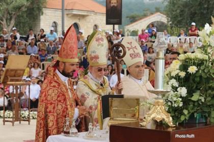 Սուրբ Կոյս Մարիամի Վերափոխման տօնը Զմմառու վանքին մէջ