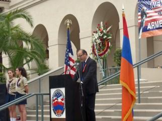 Mr. Khatchik Chahinian, Chairman of the Pasadena Armenian Community Coalition