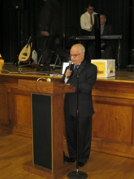 Vartkes Ergun Ayik, Parish Council Chairman of St. Giragos Armenian Church