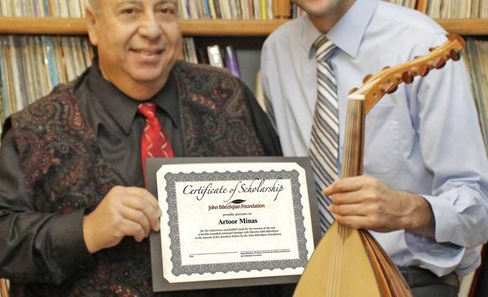 Chapman University Law Student Receives Armenian Music