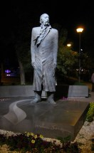 The statue of William Saroyan in Yerevan
