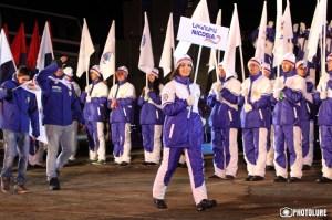 Opening of the Winter Pan-Armenian Games in Tsaghkadzor, Kotayk marz