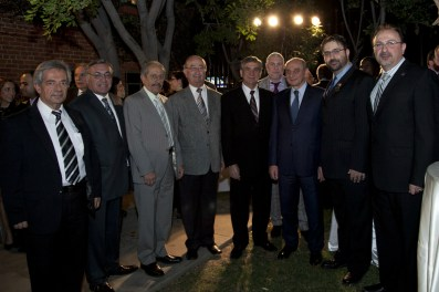 SDHP Western Region Executive Committee members along with Artsakh President Bako Sahakyan and Armenian Consul General Sergey Sarkisov and ACA Chair Mr. Sevak Khatchadorian
