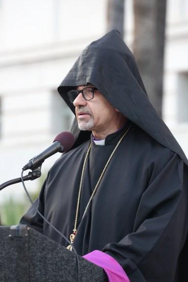 H.E. Archbishop Moushegh Mardirossian Prelate of the Western Prelacy - Courtesy ARKA Photo