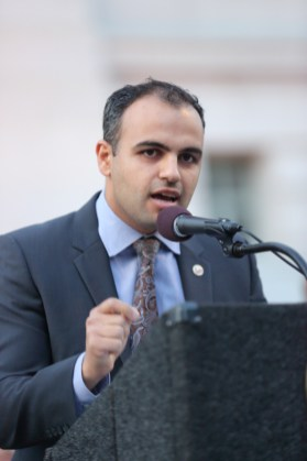 Raffi Kassabian from the Armenian National Committee of America – Western Region - Courtesy ARKA Photo