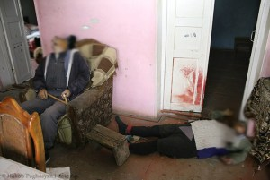 Valera Khalapyan and his wife Razmela Executed in their home , Talish,  Nagorno-Karabakh.