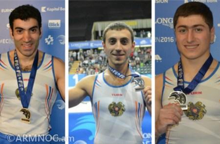 Vahagn Davtyan, Artur Davtyan and Artur Avetisyan