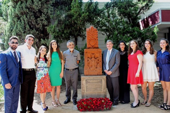 Khachkar Dedication Ceremony at Azusa Pacific University