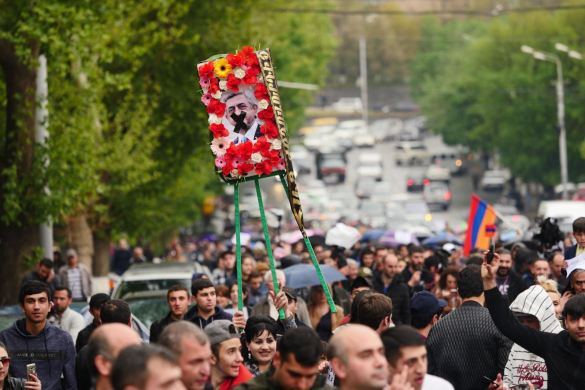 Almost 200 Arrested In Yerevan As Police Struggle to Contain Anti-Sarkisian Protests