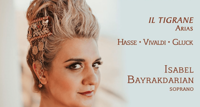 """Soprano Isabel Bayrakdarian's """"The Other Cleopatra: Queen of ..."""