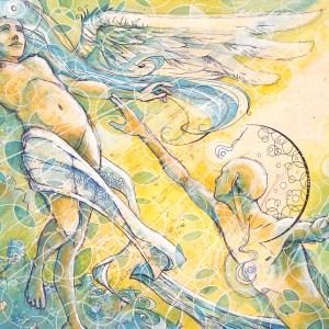Vigilance of Faith   Fine Art by Neo Surrealist Painter Miles Davis   Massive Burn Studios