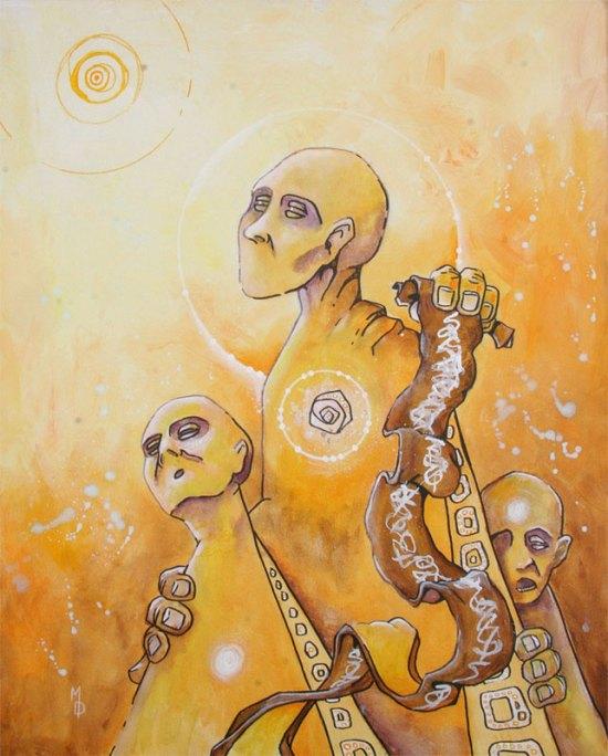 Wisdom, Awe, and Fear | Original Art by Miles Davis | Massive Burn Studios