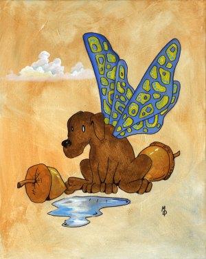 Butterpup #4 | Original Art by Miles Davis | Massive Burn Studios