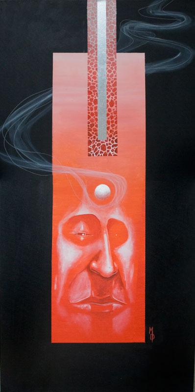 Lava   Original Art by Miles Davis   Massive Burn Studios