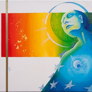 Lady Liberty | Original Art by Miles Davis | Massive Burn Studios