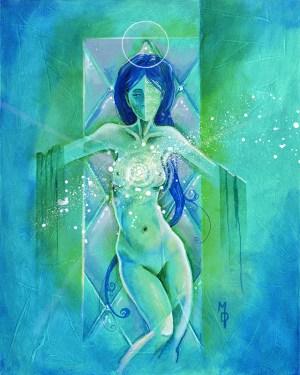 Presentation of Her | Original Art by Miles Davis | Massive Burn Studios