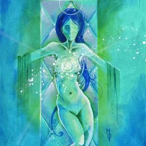Presentation of Her   Original Art by Miles Davis   Massive Burn Studios