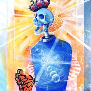 Dr. Atom   Original Art by Miles Davis   Massive Burn Studios