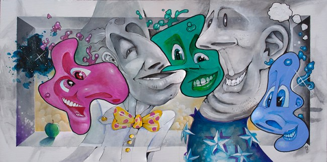 The Ideas Between Us | Original Art by Miles Davis | Massive Burn Studios
