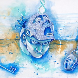 Pains of Passion | Original Art by Miles Davis | Massive Burn Studios