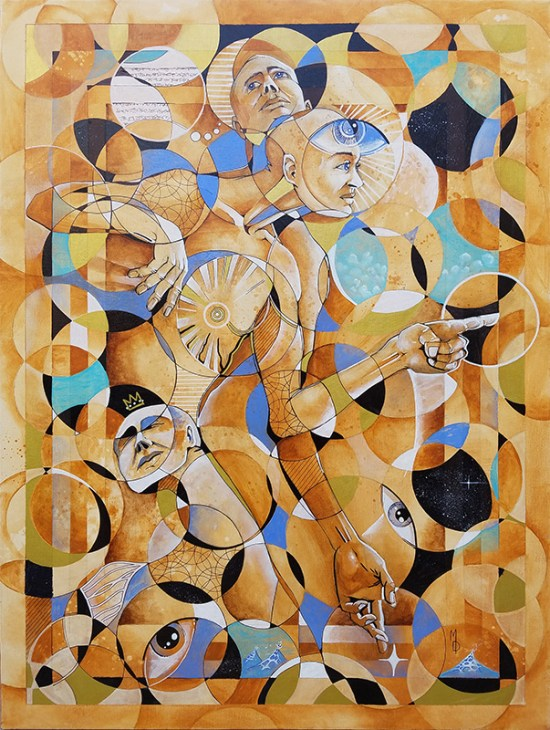 Trio | Original Art by Miles Davis | Massive Burn Studios