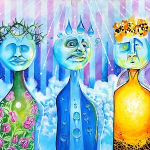 Elementals   Original Art by Miles Davis   Massive Burn Studios