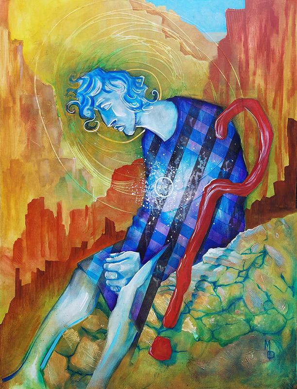 The Doubt | Original Art by Miles Davis | Massive Burn Studios