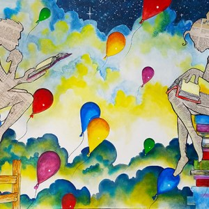 Ladders of Learning | Original Art by Miles Davis | Massive Burn Studios