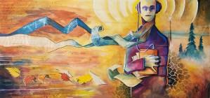 Audio File | Original Art by Miles Davis | Massive Burn Studios