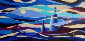 Whispers on the Wind | Original Art by Miles Davis | Massive Burn Studios