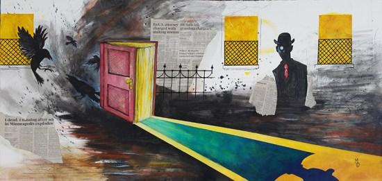 Mysterious Findings | Original Art by Miles Davis | Massive Burn Studios