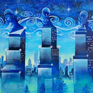 Midnight Kings   Original Art by Miles Davis   Massive Burn Studios