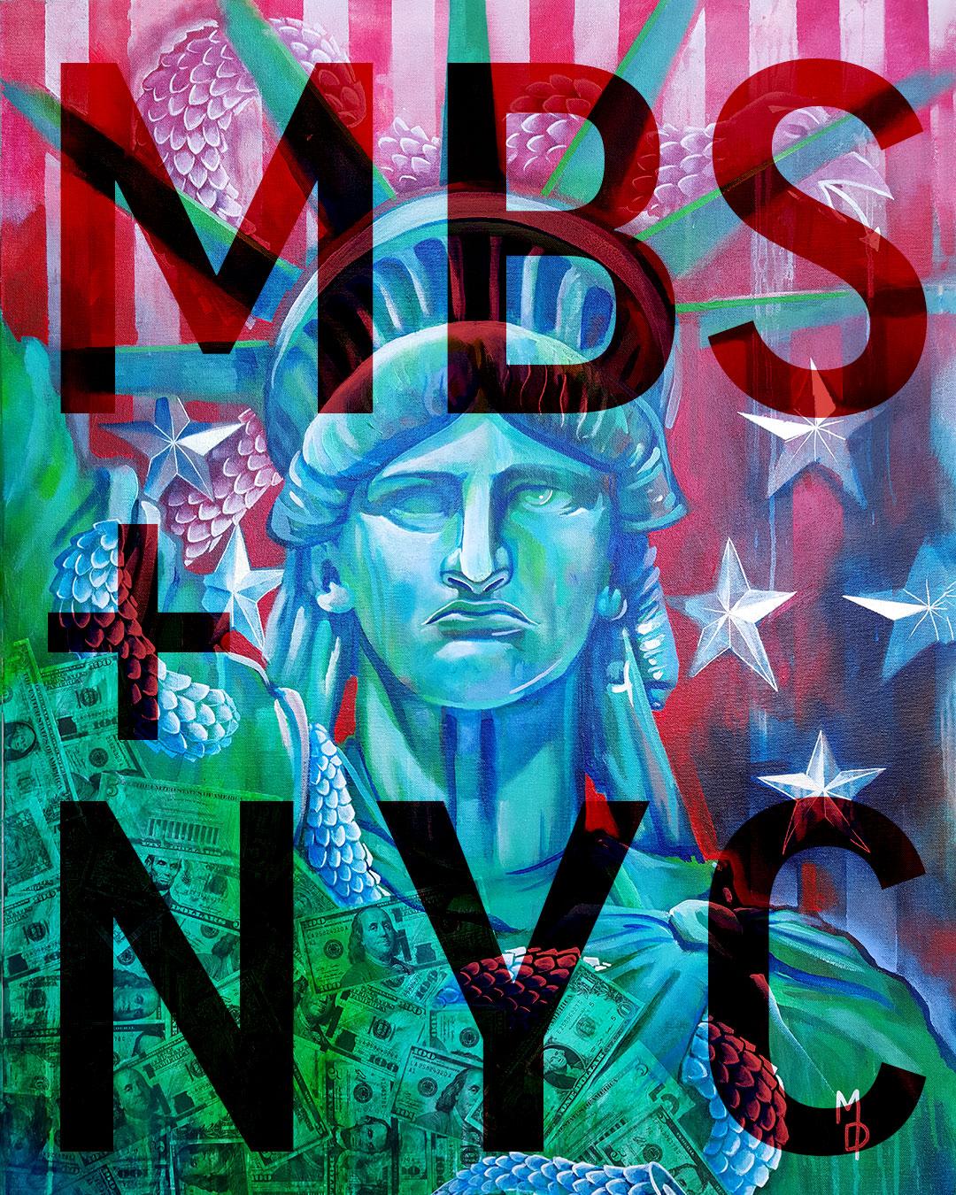 MBS + NYC | Massive Burn Exhibits at Superfine Art Fair NYC | Massive Burn Studios