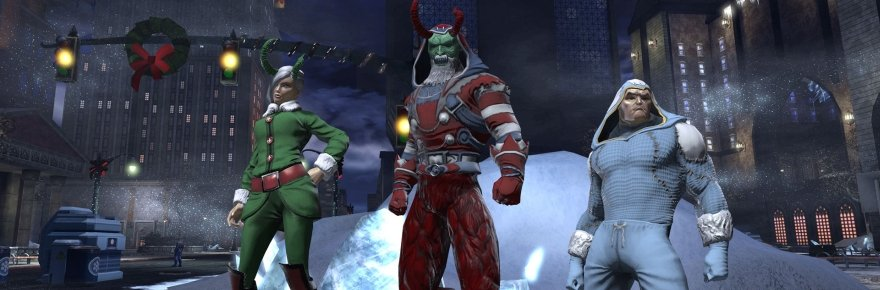 DC Universe Online Brings Out New Holiday Outfits And Penguins For December Massively Overpowered