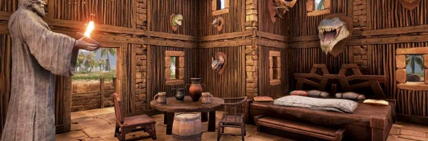 Conan Exiles Goes Nuts With Home Decoration And Defense Massively Overpowered