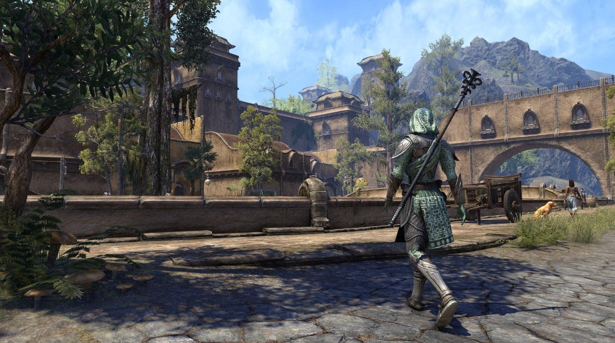 Celebrate The Elder Scrollss 25th Anniversary By Playing ESOs Elsweyr Prologue Today For Free