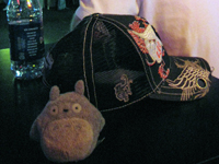 Mr. Orender's ridiculous hat.