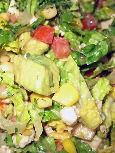 I really do like the salad.
