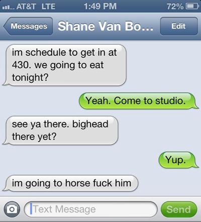 as sent to Justin Collett from Shane Van Boening