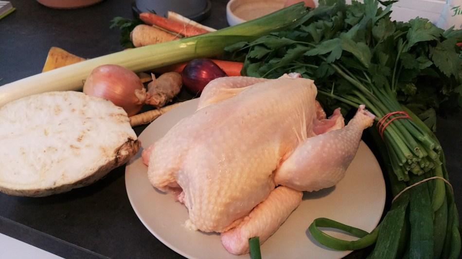 Hühnersuppe