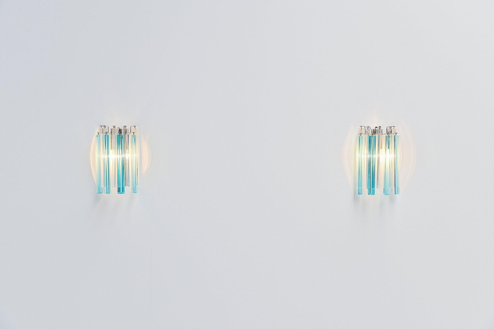 Paolo Venini Asta Triedo Sconces Italy Massmoderndesign