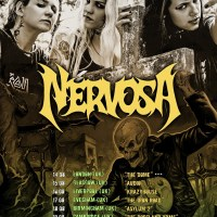 NERVOSA announce UK Tour