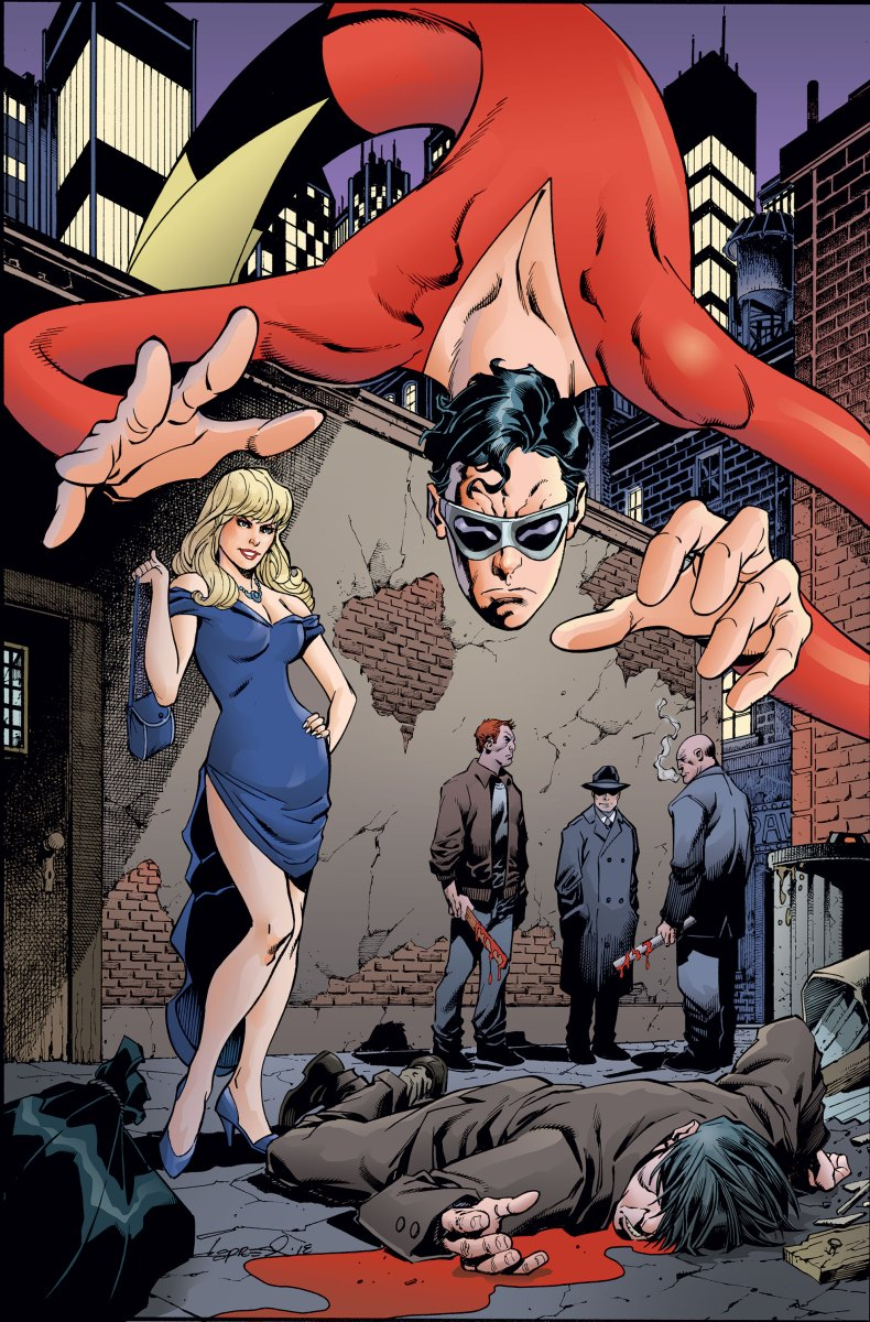 Gail Simone and Adriana Melo team up for Plastic Man in June...