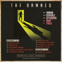The Damned announce November UK tour dates