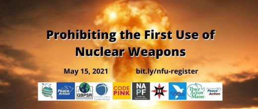 Prohibiting the First Use of Nuclear Weapons – Massachusetts Peace Action